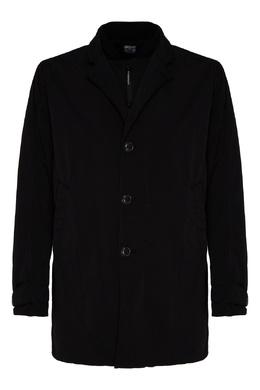 Тонкий пуховик черного цвета C.P. Company 1929174981