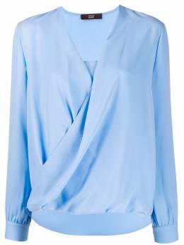 Steffen Schraut блузка с драпировкой 19118259