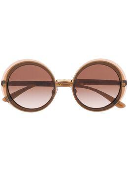 Dolce&Gabbana Eyewear солнцезащитные очки в круглой оправе DG6127