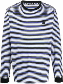 Acne Studios футболка в полоску с длинными рукавами CL0054