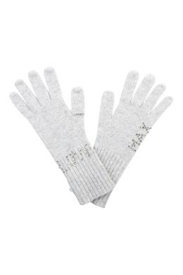 Светло-серые перчатки, декорированные металлом Max & Moi 2919174617