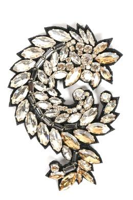 Крупная брошь с кристаллами Ermanno Scervino 1328171758