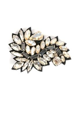 Брошь из ткани и кристаллов Ermanno Scervino 1328171759