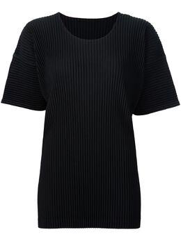 Homme Plisse Issey Miyake плиссированная футболка HP76JK020