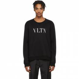 Valentino Black and White VLTN Sweatshirt TV3MF10G3TV