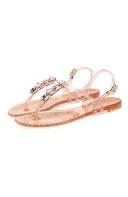 Резиновые сандалии Casadei 2Y010D0101BEACH3404