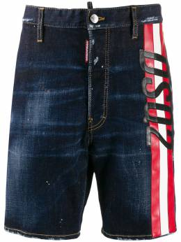 Dsquared2 джинсовые шорты с логотипом S74MU0601S30664
