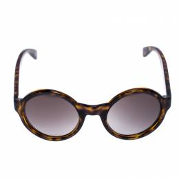 Marc by Marc Jacobs Brown Tortoise V08HA Round Sunglasses