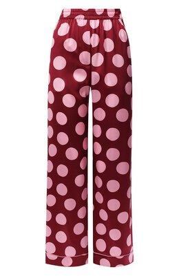 Шелковые брюки Dolce&Gabbana FTAMPT/FSAZF
