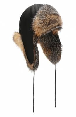 Шапка-ушанка из меха лисы Furland 0001109610099300143