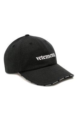 Хлопковая бейсболка Vetements SS20CA001 1026/W