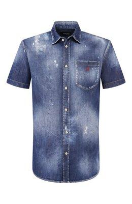 Джинсовая рубашка Dsquared2 S74DM0374/S30341