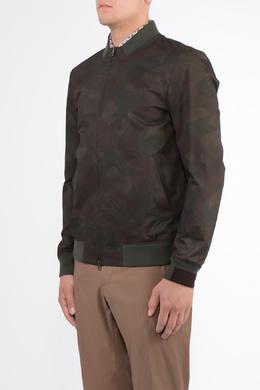 Бомбер из ткани с камуфляжным принтом Etro 907176833