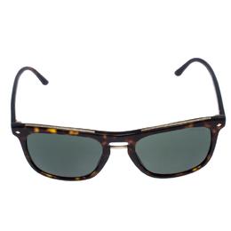 Giorgio Armani Brown/Green Tortoise AR8107 Wayferer Sunglasses