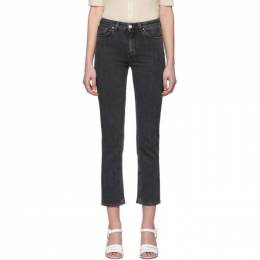 Toteme Grey Straight Jeans 193-233-743