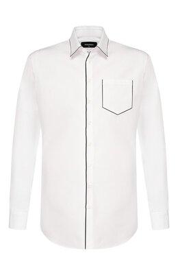 Хлопковая рубашка Dsquared2 S74DM0362/S36275