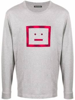 Acne Studios футболка с длинными рукавами и принтом CL0052