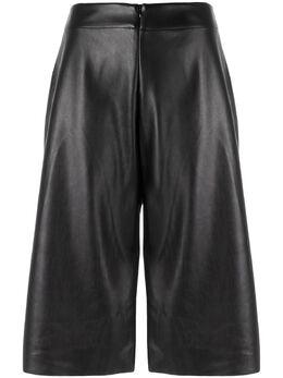 Uma | Raquel Davidowicz укороченные расклешенные шорты LYON02AW17