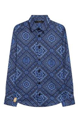 Хлопковая рубашка Billionaire B20C BRP0099 BTE002N