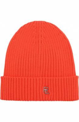 Шерстяная шапка с логотипом бренда Ralph Lauren 790712863