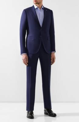 Шерстяной костюм Sartoria Latorre A6I7EF U50983