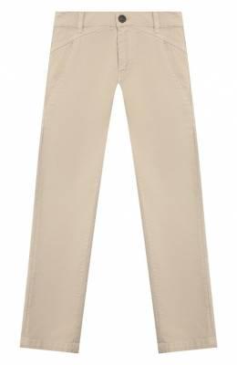 Хлопковые брюки Fendi JMF185/A6I7/6A-8A