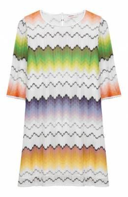 Платье из вискозы Missoni MBG00024/BR0017/8-12