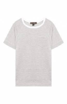 Хлопковая футболка Loro Piana FAI4853