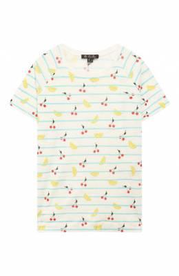 Льняная футболка Loro Piana FAI4846