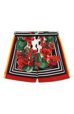 Хлопковые шорты Dolce&Gabbana L52Q30/LA307/8-14