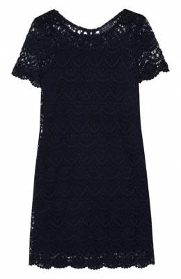 Кружевное платье из хлопка Polo Ralph Lauren 313735995