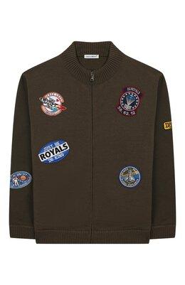 Шерстяной кардиган Dolce&Gabbana L4KW27/JAVNF/8-14