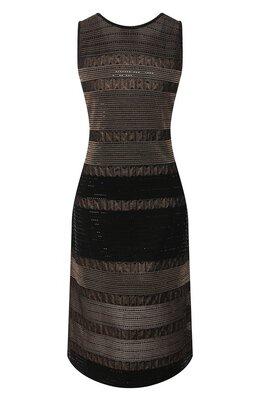 Платье из смеси вискозы и шерсти St. John K15V001