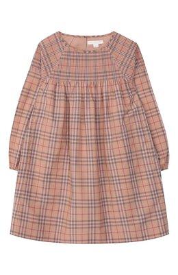 Хлопковое платье Burberry 8004479