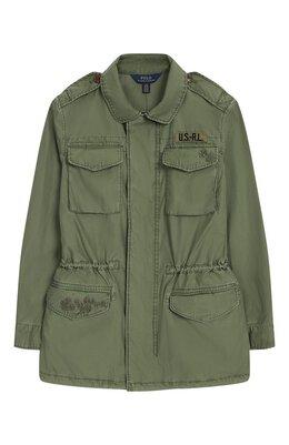 Хлопковая куртка Polo Ralph Lauren 313709319