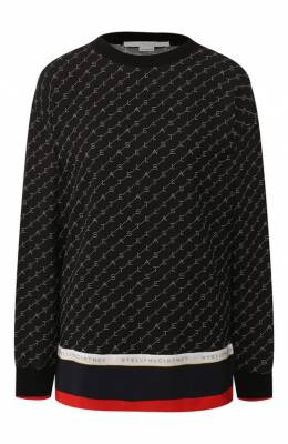 Блузка из смеси вискозы и шелка Stella McCartney 581288/SNA24
