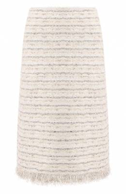 Твидовая юбка St. John K71T012