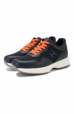 Кожаные кроссовки Hogan HXC00N0V311KIR