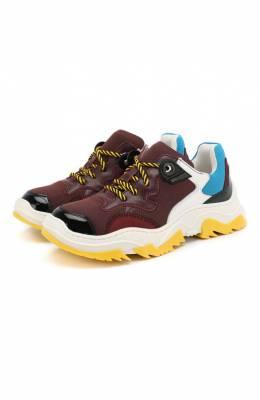 Комбинированные кроссовки No. 21 59601/36-41