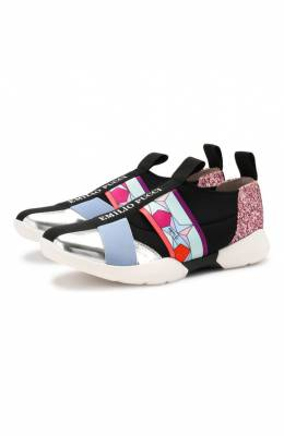 Текстильные кроссовки Emilio Pucci 9K0276/KX260