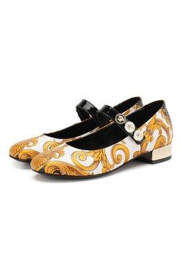 Кожаные туфли Versace YSF0691X/YS0641/30-33