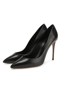 Кожаные туфли Julia Casadei 1F121D100.DUSE000