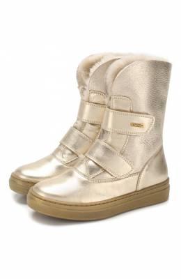 Кожаные ботинки с меховой отделкой Missouri 2954 V/27-30