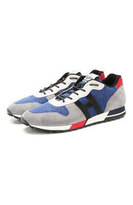 Комбинированные кроссовки Hogan HXM3830AN51NE9
