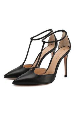 Кожаные туфли Cheryl Gianvito Rossi G40039.15RIC.NAPNER0