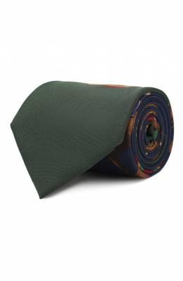 Шелковый галстук Ralph Lauren 791773397