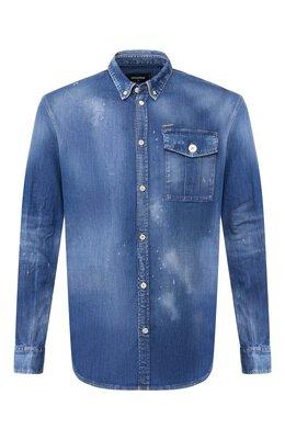 Джинсовая рубашка Dsquared2 S74DM0379/S30341
