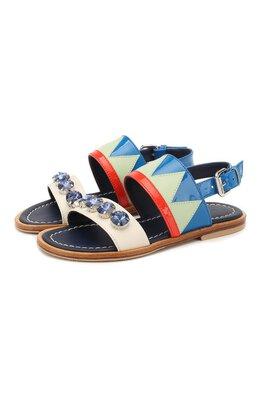 Кожаные сандалии Marni 64530/28-35