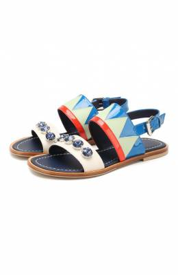 Кожаные сандалии Marni 64530/36-41