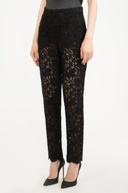 Черные кружевные брюки Dolce&Gabbana 599180583